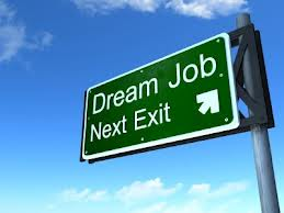 Dream Job Exit Sign